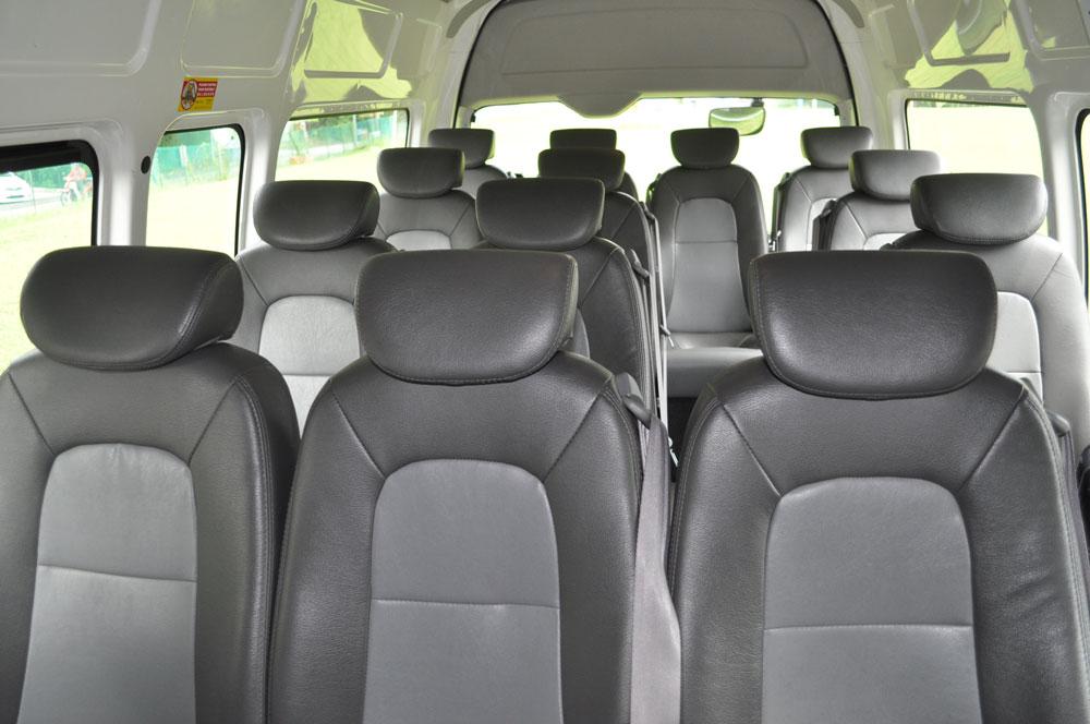 13 Seater Interior